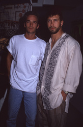 Luke Perry and Stephen Baldwin