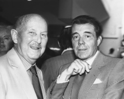Michael Powell and Dirk Bogarde