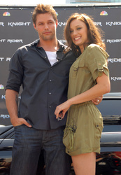 Justin  Bruening and Deanna Russo