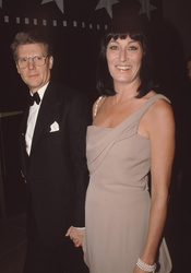 James Fox and Anjelica Huston