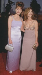 Jane Leeves and Peri Gilpin