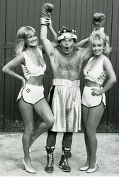 Vee Brooks, Freddie Starr and Sue Lee
