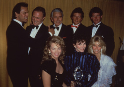 Dynasty Cast event in March 1987